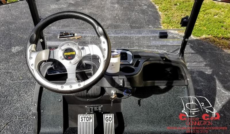 2021 ICON i20 Electric Golf Cart w/Bag Attachments
