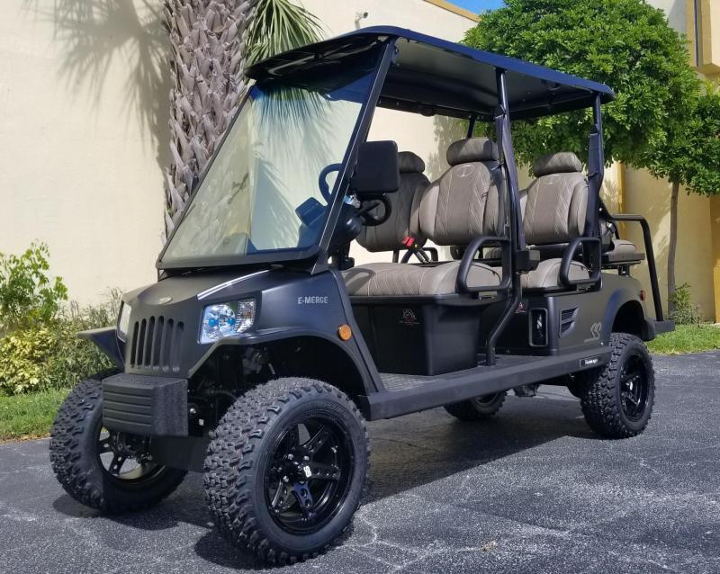 2021 Tomberlin Ghosthawk 6 Passenger Lifted Golf Cart