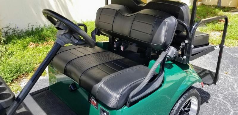 2016 E-Z-GO TXT Gas Golf Cart w/Black Seats