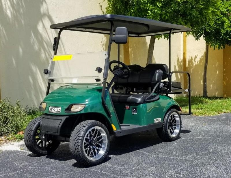 2016 E-Z-GO TXT Gas Golf Cart w/Black Seats