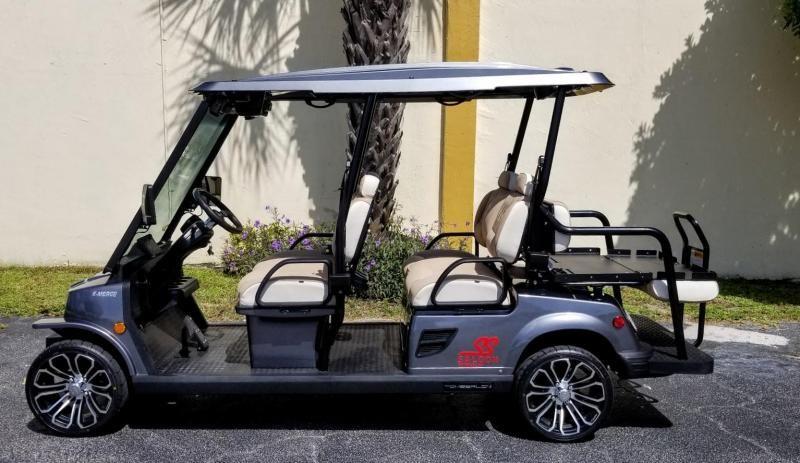 2021 Tomberlin E4 SS Saloon 6 Passenger Golf Cart