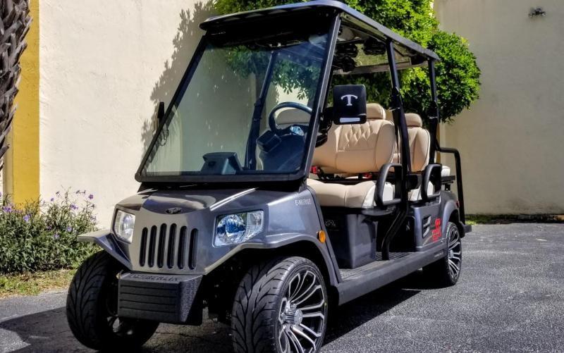 2022 Tomberlin E4 SS Saloon 6 Passenger Golf Cart