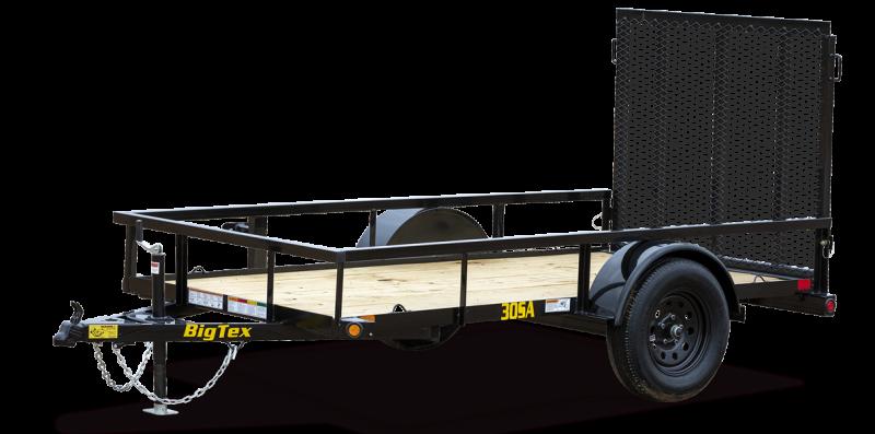 BIG TEX 5 X10ft  Utility Trailer