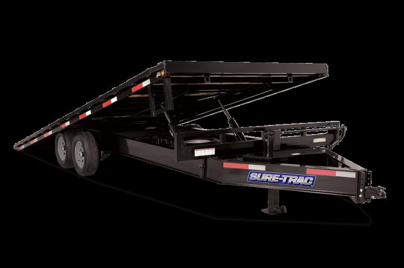 Sure-Trac 17.6K Tilt Deckover Flatbed Trailer
