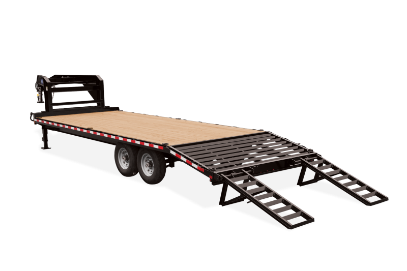 Sure-Trac Gooseneck 8.5 x 20+4 Flatbed Trailer