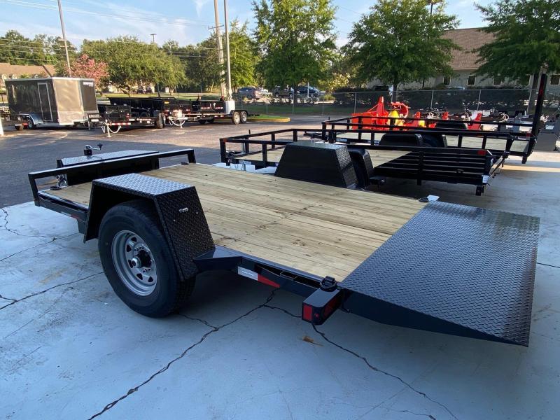 Sure-Trac 78 x 12 Single Axle Tilt Bed Equipment Trailer
