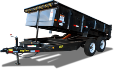 Big Tex 14LX-14 Dump Trailer