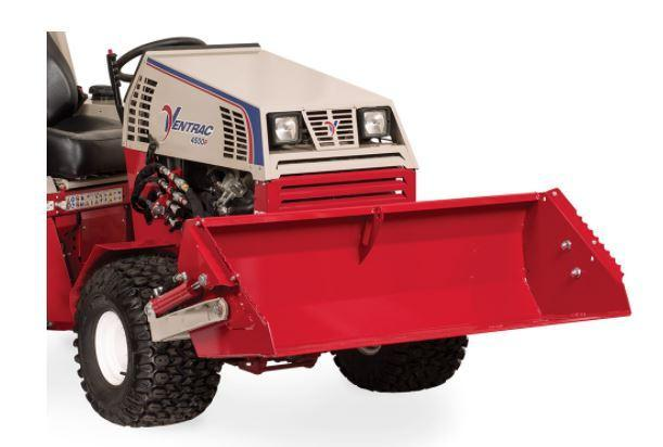 Ventrac Power Bucket Attachment