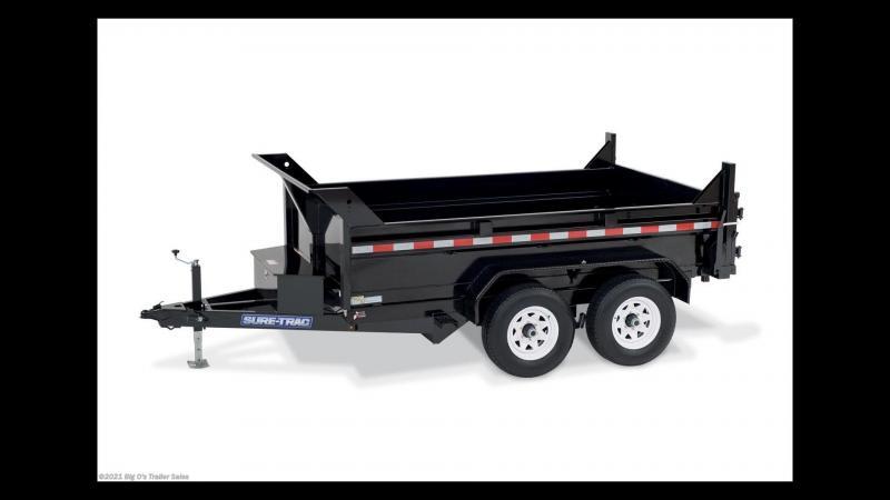 2021 Sure-Trac B-100 Utility Trailer