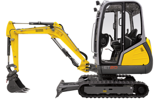 "Wacker Neuson ET 2.0 Mini Excavator W/12"" Bucket"