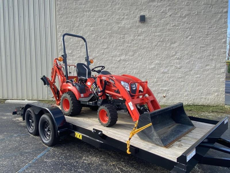 CS2510 Kioti Tractor with Loader & Backhoe