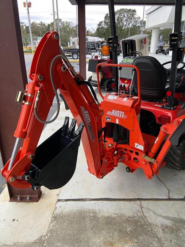 Kioti CS2510 Tractor with Loader & Backhoe