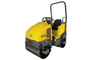 Wacker Neuson RD12 Tandem Vibratory Ride-On Roller