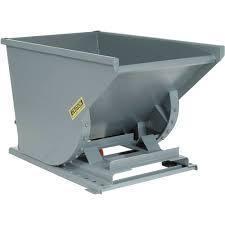 Forklift Attachment -Trash Hopper 4 x 5 x 7