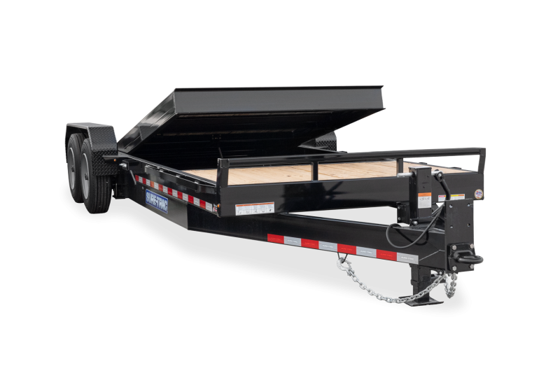 2021 Sure-Trac 82X18 Tilt Equipment Trailer