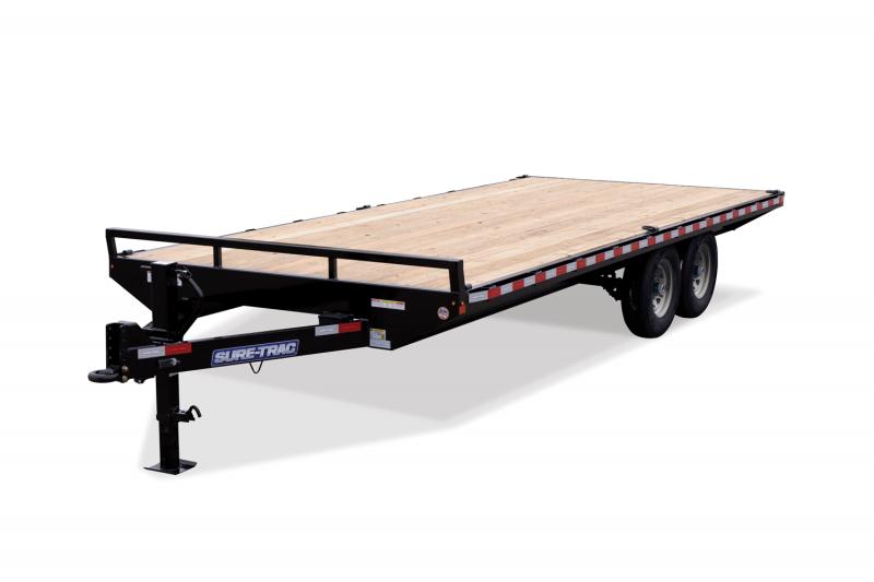 2021 Sure-Trac ST10222SDD-B-150 Utility Trailer