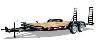 Big Tex 10ET-20 Equipment Trailer