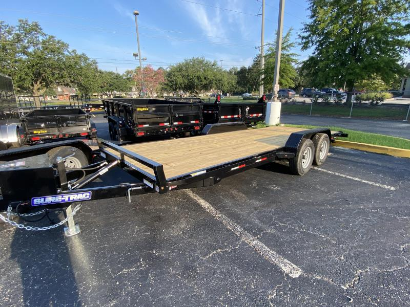Sure-Trac 7 x 20 Tilt Car Hauler Trailer