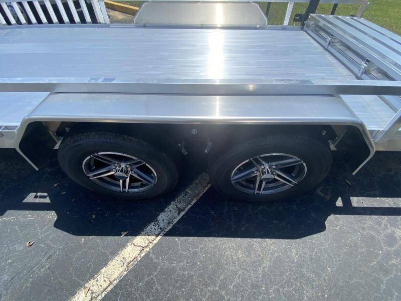 Sure-Trac 7X16 7K Tandem Utility Trailer