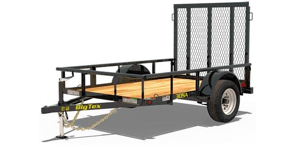 Big Tex 30SA-10 Utility Trailer