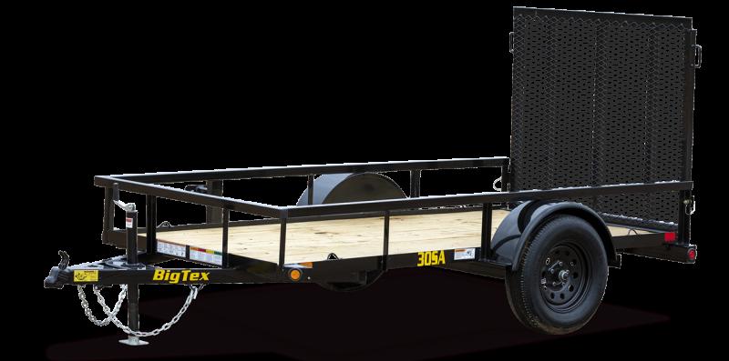 BIG TEX 5 X8 ft  Utility Trailer