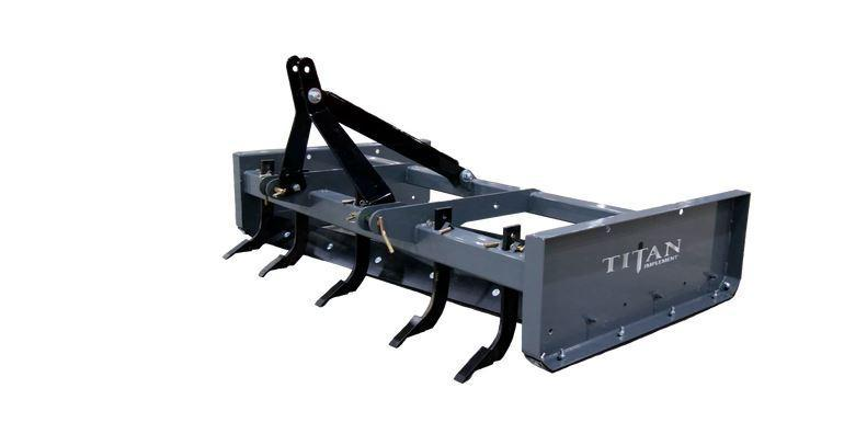 "Titan Implement 72"" Heavy Duty Box Blade"