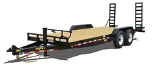 Big Tex 14ET-20 Equipment Trailer w/ Mega Ramps