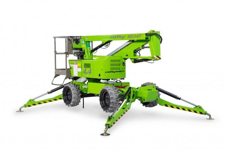 Nifty SD34T Boom Lift (42 FEET WORK HEIGHT)