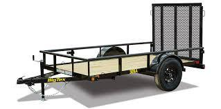 Big Tex 30SA-8 Single Axle Utility Trailer
