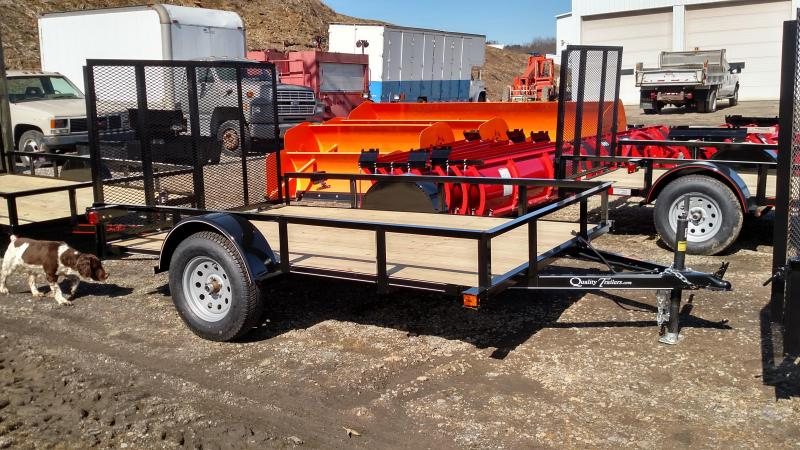 NEW 2021 Quality 5x10 Econo Utility Trailer