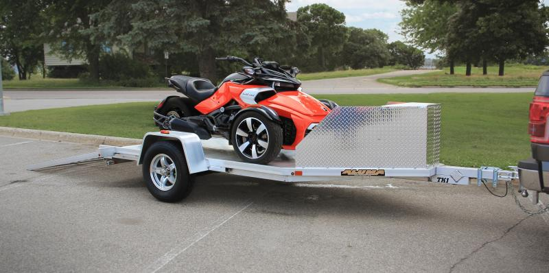 NEW 2022 Aluma 11' (1 Place) Trike Trailer w/ Pull Out Ramp