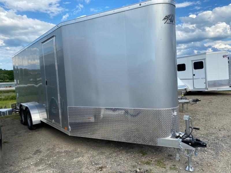 NEW 2020 ATC 7x18 Raven All Sport + V-Nose Cargo w/ Ramp Rear Door
