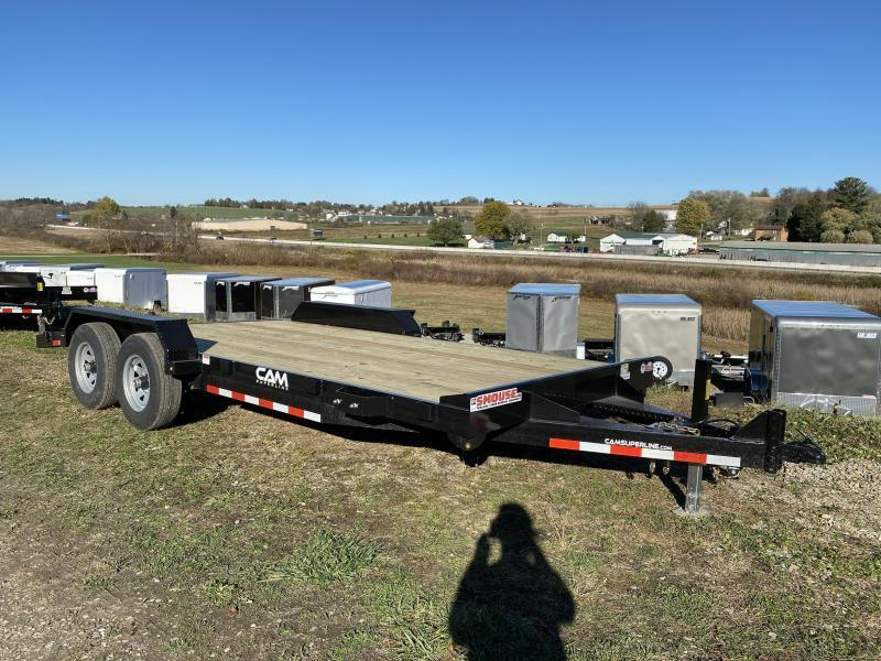 NEW 2022 CAM 20' HD Car Hauler w/ Underbody Ramps & Removable Fender