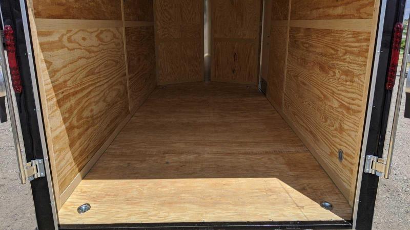 NEW 2021 Homesteader 7x16 Intrepid V-Nose w/ Ramp Door