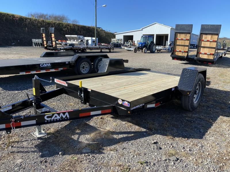 NEW 2021 CAM 6x12 Single Axle Tilt Trailer
