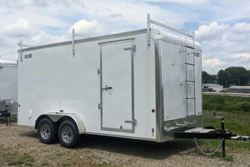NEW 2021 Car Mate 7x16 HD Contractor Trailer w/ Barn Doors