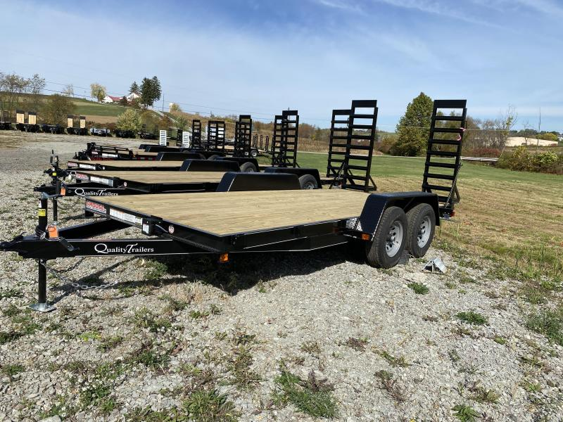 NEW 2021 Quality 16' Econo Equipment Hauler w/ No Dove