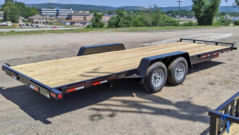 NEW 2022 Quality 24' HD PRO Side By Side Hauler w/ Underbody Ramps