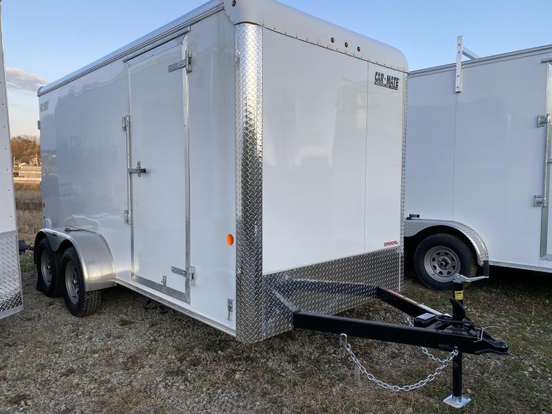 NEW 2021 Car Mate 6x14 HD Custom Cargo Trailer w/ Ramp Door