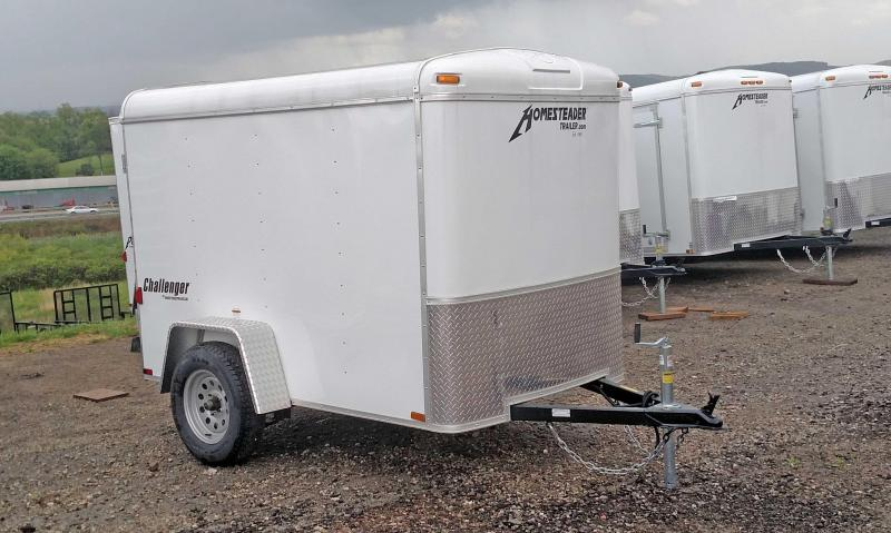 NEW 2021 Homesteader 5x8 Challenger Cargo Trailer w/ Barn Door (Coming Soon!)