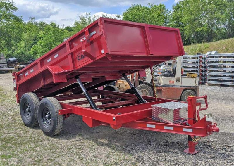 "NEW 2020 CAM Superline 6'9 x 12 HD ""BEAST"" Lo Pro Equipment Dump Trailer (6K Axles)"
