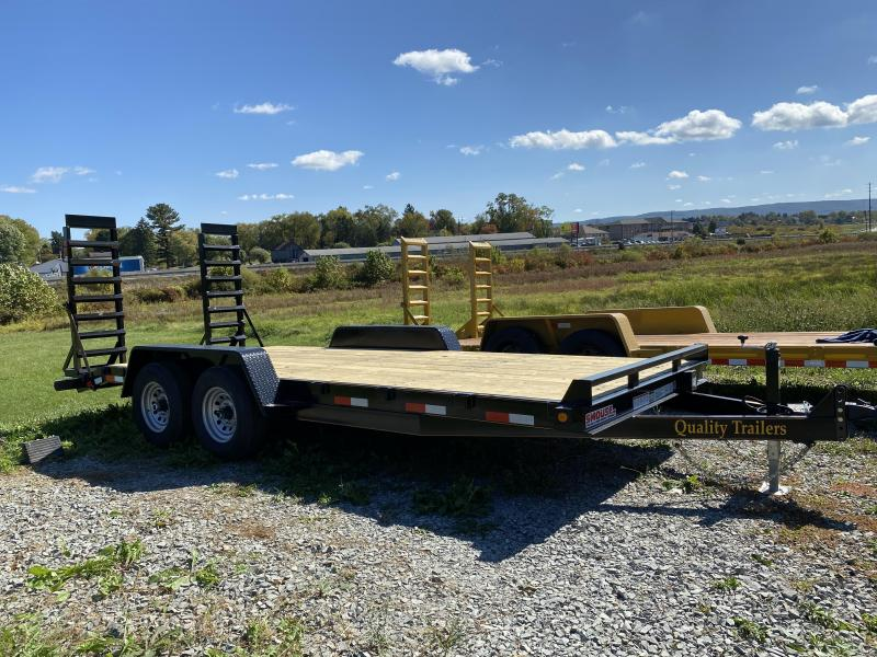 NEW 2021 Quality 20' General Duty Equipment Hauler w/ 2' Dove