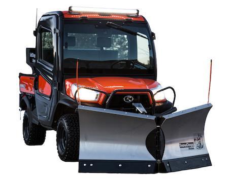 2021 SnowDogg UTV V-Plow Power Angle Snow Plow