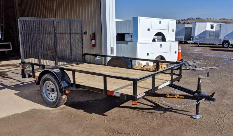 NEW 2021 Quality 6x10 General Duty Utility Trailer w/ LED Lights