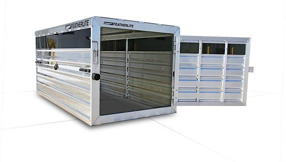 2021 Featherlite 8191 Truck Boxes (Livestock and Dog)