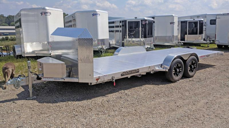 "NEW 2022 Aluma 18' ""25th Anniversary"" Tilt Trailer w/ 20"" Stationary + 18' Tilt"