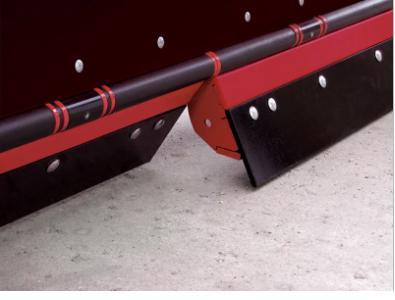 NEW HINIKER 8' POLY Trip Edge Straight Plow w/ Wear Bars & LED Lites