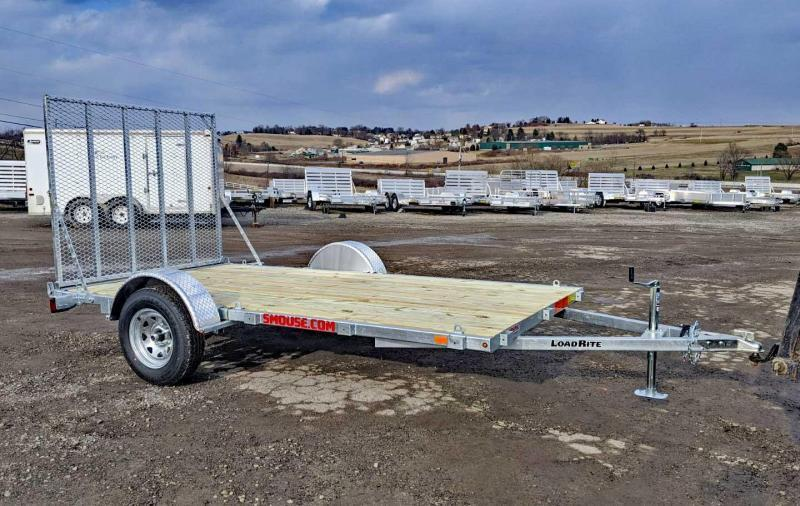NEW 2020 Load Rite 6.5' x 12' GALVANIZED Utility Trailer