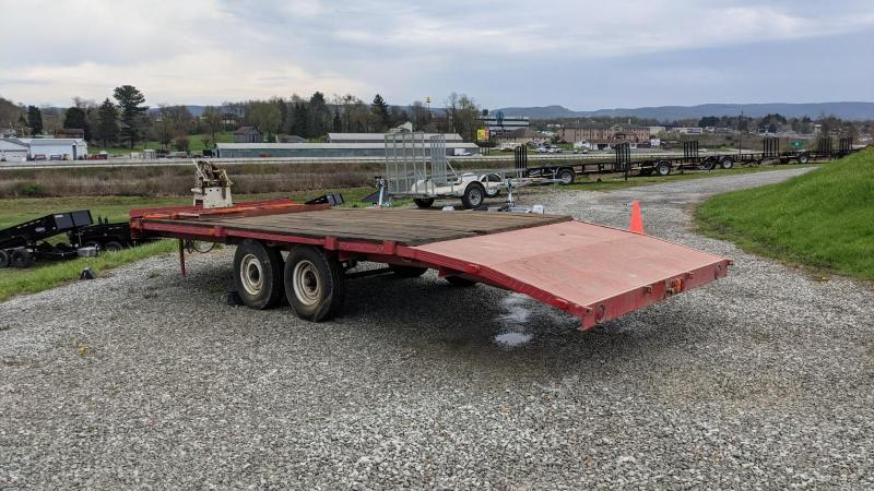 USED 1993 Sp Constr 21' Deckover Trailer w/ Ramps (Great for 2 Side By Sides!)