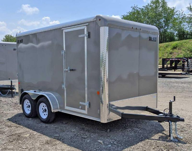 "NEW 2020 Car Mate 7x12 HD Custom Cargo Trailer w/ Ramp (6"" Add'l Hght)"